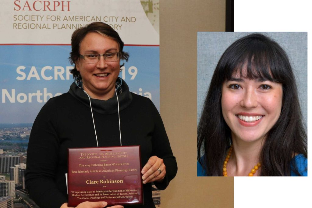 Claire Robinson, University of Arizona, and Megan Asaka, University of California, Riverside, 2019 Bauer Article Prize Winners
